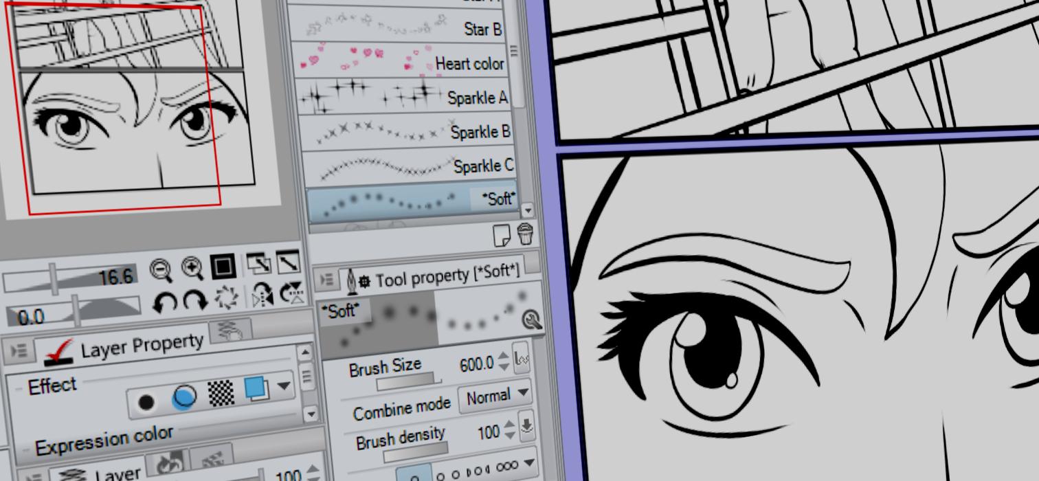 Looking for Manga Studio 5 Tutorials?
