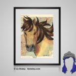Chincoteague Pony Print - 8x10 matted to 11x14 Ready To Frame Horses of the World Print