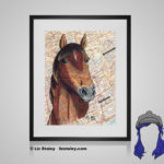 Morgan Print - 8x10 matted to 11x14 Ready To Frame Horses of the World Print