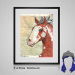 Paint Print - 8x10 matted to 11x14 Ready To Frame Horses of the World Print