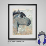 Vyatka Print - 8x10 matted to 11x14 Ready To Frame Horses of the World Print