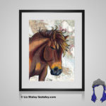Misaki Print - 8x10 matted to 11x14 Ready To Frame Horses of the World Print