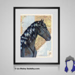 Vlaamperd Print - 8x10 matted to 11x14 Ready To Frame Horses of the World Print