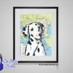 Dalmatian - 8x10 matted to 11x14 Ready To Frame Dogs of the World Print
