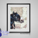 Gypsy Vanner - 8x10 matted to 11x14 Ready To Frame Horses of the World Print