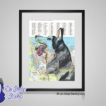 Siberian Husky - 8x10 matted to 11x14 Ready To Frame Dogs of the World Print