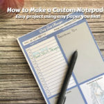 How to Make Custom Notepads - Tutorial Video!