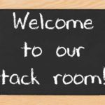 Come Tour Our Tack Room!