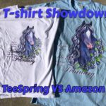 T-Shirt Showdown - TeeSpring VS Amazon