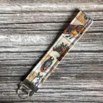 Key Fob/Lanyard - 6.5 inch strap with key ring, Handmade