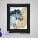 Ardennes French Draft Horse - 8x10 matted to 11x14 Ready To Frame Horses of the World Print