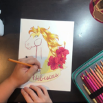Hibiscus Horse Timelapse Video While Talking About Failure