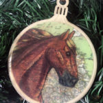 Tennessee Walking Horse Christmas Ornament